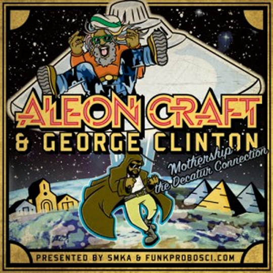 Aleon Craft and George Clinton