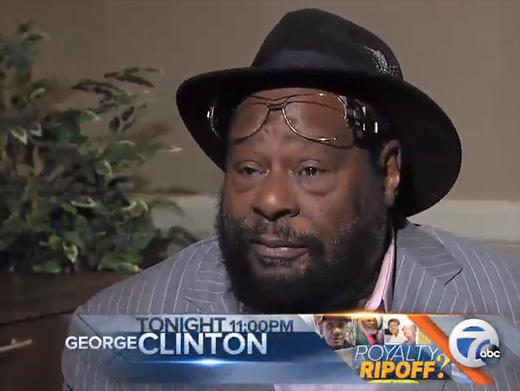 George Clinton and others accuse local businessman of music royalty rip-offs