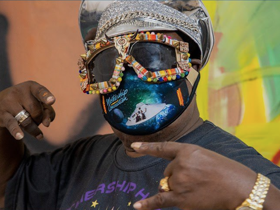 George Clinton Live Virtual Art Talk